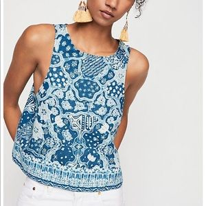 Free People Bare It All Tank Top